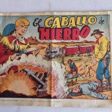 Tebeos: CHISPITA EN EL OESTE. EL CABALLO DE HIERRO. Lote 58363089