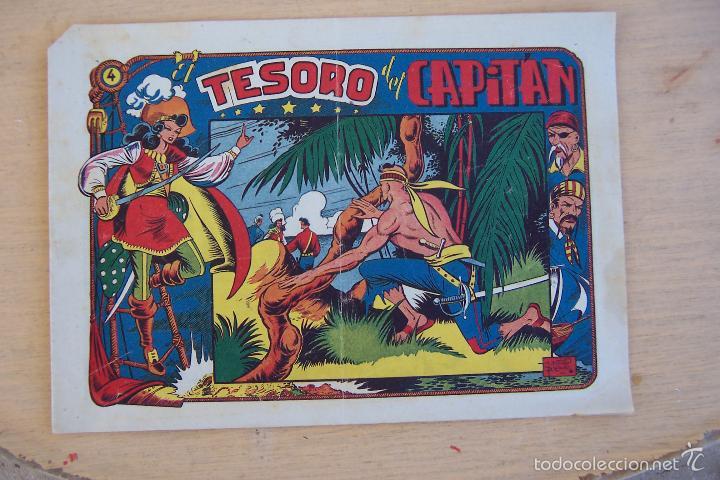 Tebeos: grafidea el charro temerario 1 reedición-2-4-34-41 y 2ª parte la capitana nº 4-18-5-17-36 - Foto 8 - 32972170