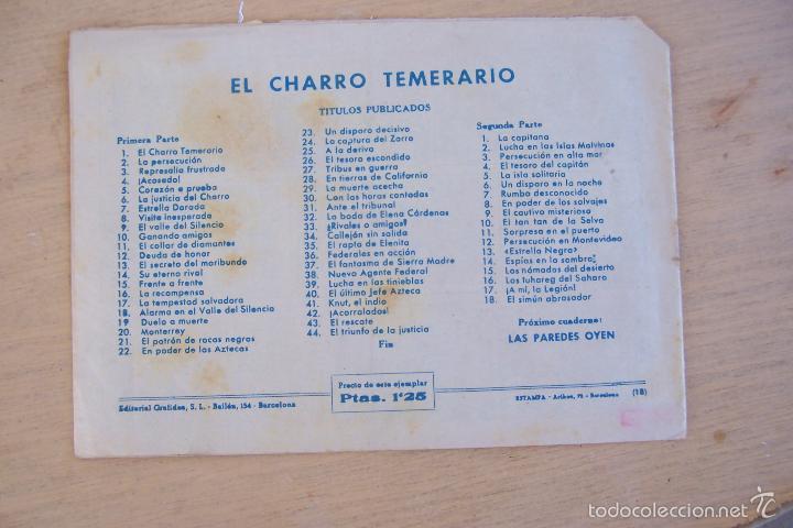 Tebeos: grafidea el charro temerario 1 reedición-2-4-34-41 y 2ª parte la capitana nº 4-18-5-17-36 - Foto 11 - 32972170