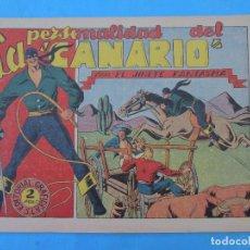 Tebeos: EL JINETE FANTASMA ,N.67 LA PERSONALIDAD DEL CANARIO , GRAFIDEA 1947. Lote 61468219