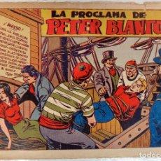 Tebeos: CHISPITA, SEXTA AVENTURA, Nº 10 , LA PROCLAMA DE PETER BLANTON , GRAFIDEA , ORIGINAL. Lote 66856846