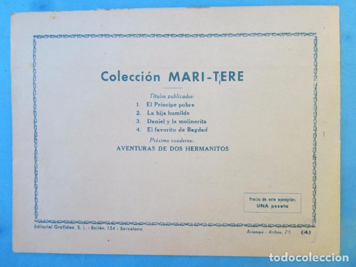 Tebeos: coleccion mari tere , n.4 el favorito de bagdad , primera edicion 1954 grafidea - Foto 3 - 88092739