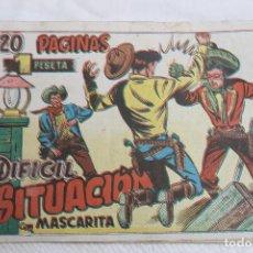 Tebeos: COMIC MASCARITA Nº 20, GRAFIDEA, AÑOS 50, 1 PTS. Lote 67200361