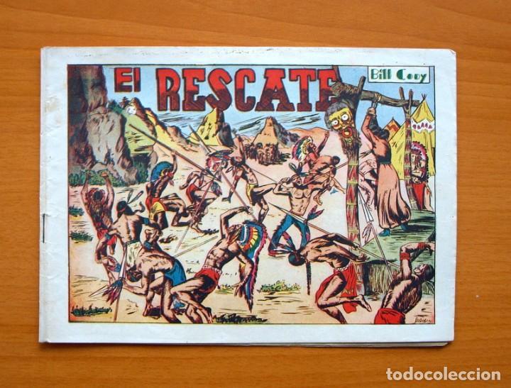 BILL CODY, Nº 5 EL RESCATE - EDITORIAL GRAFIDEA 1951 (Tebeos y Comics - Grafidea - Otros)