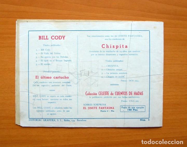 Tebeos: Bill Cody, nº 5 El rescate - Editorial Grafidea 1951 - Foto 5 - 70062165