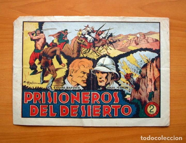 CASIANO BARULLO - Nº 7 PRISIONEROS DEL DESIERTO - EDITORIAL GRAFIDEA 1952 (Tebeos y Comics - Grafidea - Otros)
