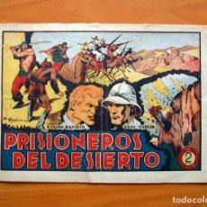 Tebeos: CASIANO BARULLO - Nº 7 PRISIONEROS DEL DESIERTO - EDITORIAL GRAFIDEA 1952. Lote 70062389