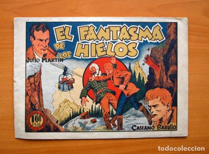 CASIANO BARULLO - Nº 11 EL FANTASMA DE LOS HIELOS - EDITORIAL GRAFIDEA 1944 (Tebeos y Comics - Grafidea - Otros)