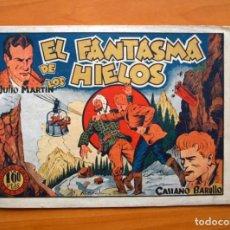 Tebeos: CASIANO BARULLO - Nº 11 EL FANTASMA DE LOS HIELOS - EDITORIAL GRAFIDEA 1944. Lote 70062669