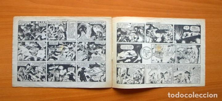 Tebeos: El charro temerario, nº 36 Federales en acción - Editorial Grafidea 1953 - Foto 4 - 70062817