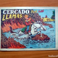 Giornalini: CHISPITA 2ª - Nº 23 CERCADO POR LAS LLAMAS - EDITORIAL GRAFIDEA 1952. Lote 70063533