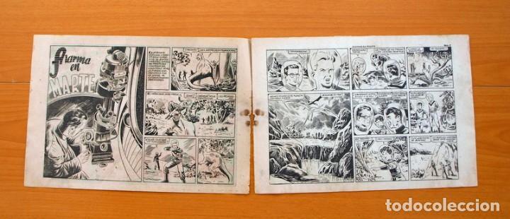 Tebeos: Chispita 7ª - nº 6 Alarma en Marte - Editorial Grafidea 1955 - Foto 2 - 70064401
