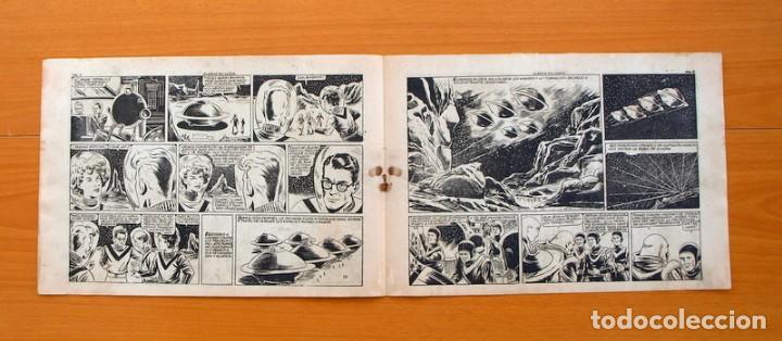Tebeos: Chispita 7ª - nº 6 Alarma en Marte - Editorial Grafidea 1955 - Foto 3 - 70064401