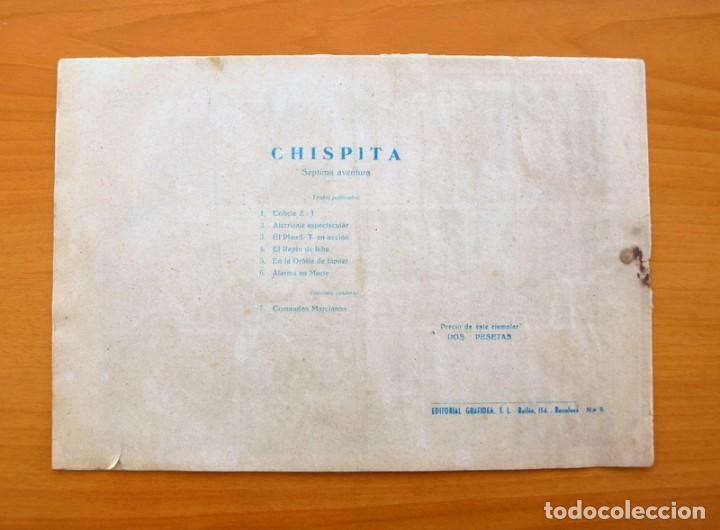 Tebeos: Chispita 7ª - nº 6 Alarma en Marte - Editorial Grafidea 1955 - Foto 5 - 70064401