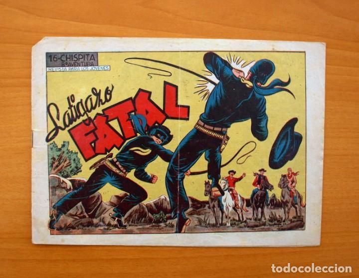 CHISPITA 8ª - Nº 16 LATIGAZO FATAL- EDITORIAL GRAFIDEA 1956 (Tebeos y Comics - Grafidea - Chispita)