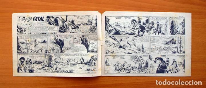 Tebeos: Chispita 8ª - nº 16 Latigazo fatal- Editorial Grafidea 1956 - Foto 2 - 70064557