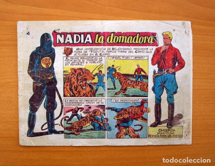 CHISPITA 9ª AVENTURA - Nº 4 NADIA LA DOMADORA - EDITORIAL GRAFIDEA 1957 (Tebeos y Comics - Grafidea - Chispita)