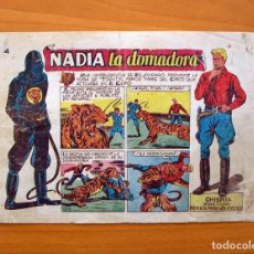 Tebeos: CHISPITA 9ª AVENTURA - Nº 4 NADIA LA DOMADORA - EDITORIAL GRAFIDEA 1957. Lote 70064657