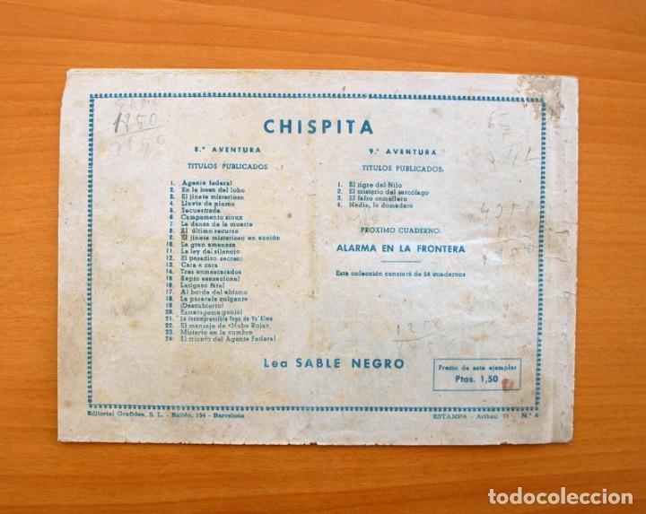 Tebeos: Chispita 9ª aventura - nº 4 Nadia la domadora - Editorial Grafidea 1957 - Foto 5 - 70064657
