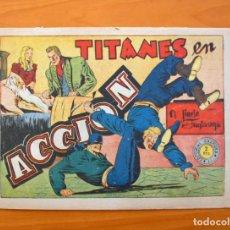 Tebeos: EL JINETE FANTASMA, Nº 65 TITANES EN ACCIÓN - EDITORIAL GRAFIDEA 1947. Lote 70065197