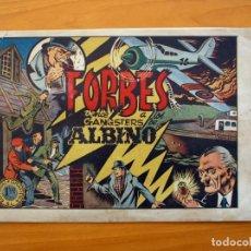 Tebeos: INSPECTOR FORBES - FORBES VENCE A LOS GANGSTERS DE ALBINO - GRAFIDEA 1944. Lote 70065769