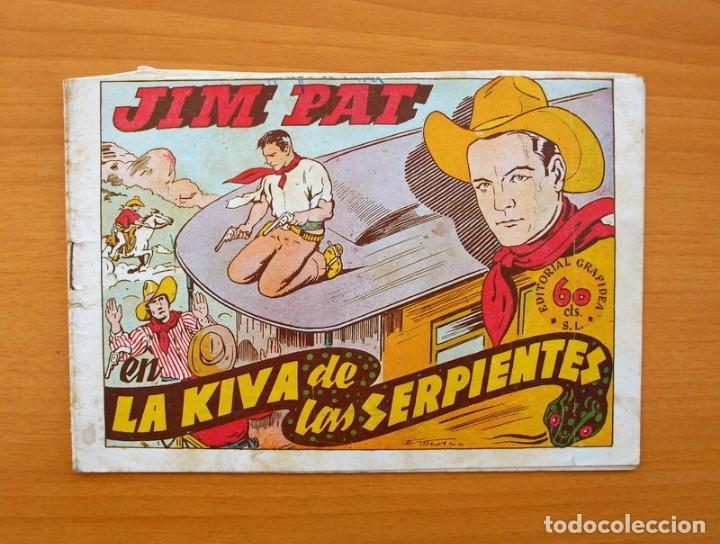 JIM PAT - LA KIVA DE LAS SERPIENTES - EDITORIAL GRAFIDEA 1940 (Tebeos y Comics - Grafidea - Otros)