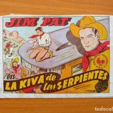 Tebeos: JIM PAT - LA KIVA DE LAS SERPIENTES - EDITORIAL GRAFIDEA 1940. Lote 70065853
