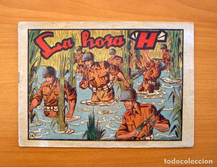 SARGENTO MACAI, Nº 14 LA HORA H - EDITORIAL GRAFIDEA 1952 (Tebeos y Comics - Grafidea - Otros)