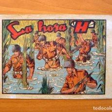 Tebeos: SARGENTO MACAI, Nº 14 LA HORA H - EDITORIAL GRAFIDEA 1952. Lote 70066481