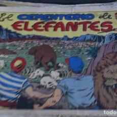 Giornalini: EL CEMENTERIO DE LOS ELEFANTES CHISPITA CUARTA AVENTURA COMIC ORIGINAL Nº 7. Lote 77015025