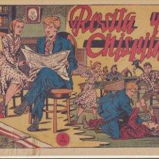 Tebeos: CHISPITA PRIMERA AVENTURA Nº 8. GRAFIDEA 1951.. Lote 77598513