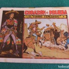 Tebeos: EL CHARRO TEMERARIO Nº 5 EDITORIAL GRAFIDEA. Lote 81568248