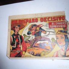 Tebeos: CHARRO TEMERARIO Nº 23 GRAFIDIA ORIGINAL. Lote 84897996