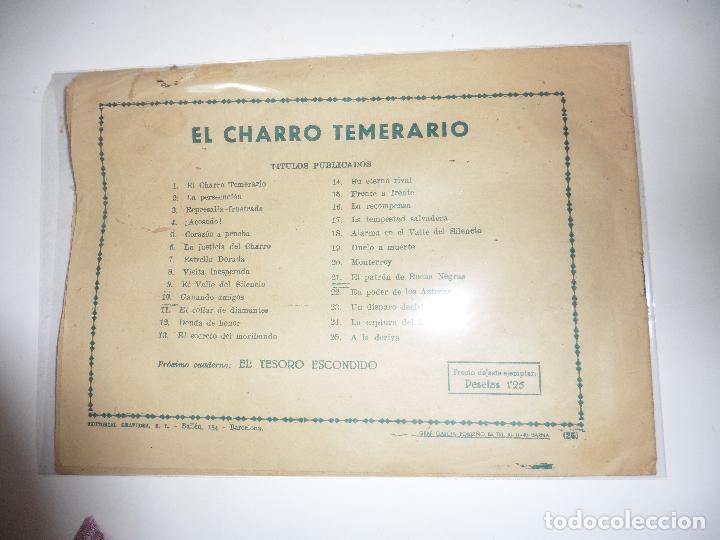 Tebeos: CHARRO TEMERARIO Nº 25 GRAFIDIA ORIGINAL - Foto 2 - 84898084