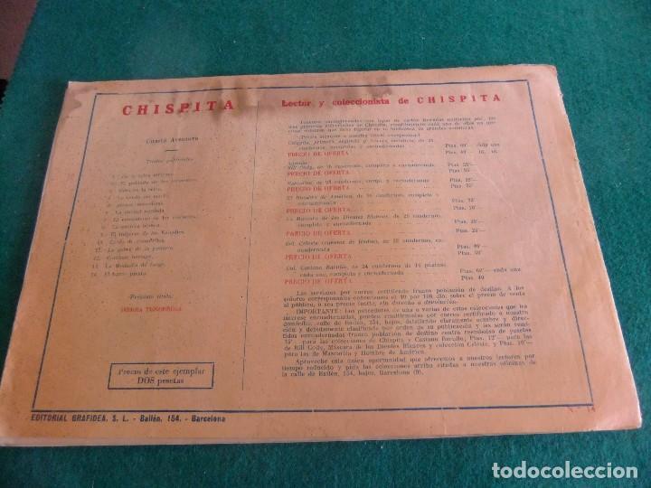 Tebeos: CHISPITA CUARTA SERIE Nº 14 GRAFIDEA ORIGINAL - Foto 2 - 85614720