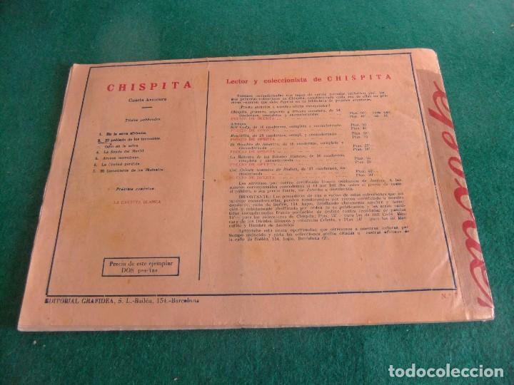 Tebeos: CHISPITA CUARTA SERIE Nº 7 GRAFIDEA ORIGINAL - Foto 2 - 85614860