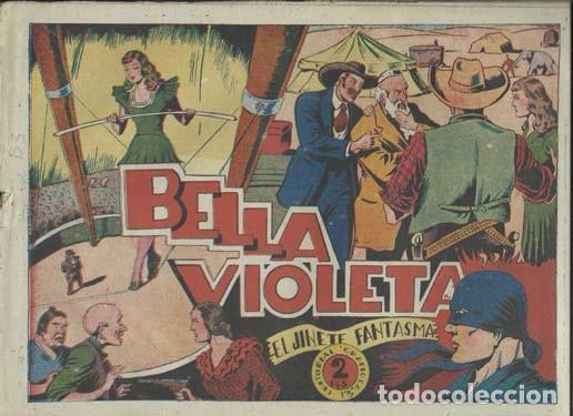 EL JINETE FANTASMA 54: BELLA VIOLETA, 1947. AMBRÓS (Tebeos y Comics - Grafidea - El Jinete Fantasma)