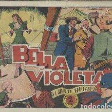 Tebeos: EL JINETE FANTASMA 54: BELLA VIOLETA, 1947. AMBRÓS. Lote 86045680