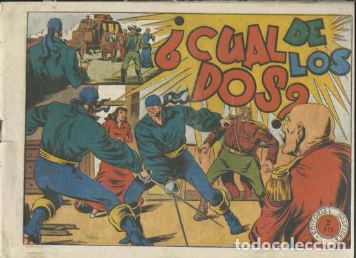 EL JINETE FANTASMA 142: ¿CUAL DE LOS DOS?, 1947. AMBRÓS (Tebeos y Comics - Grafidea - El Jinete Fantasma)