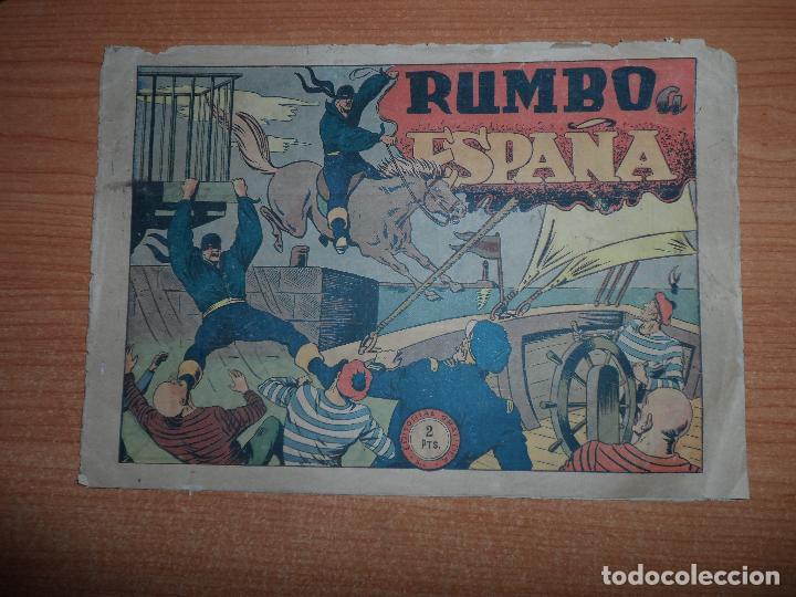 EL JINETE FANTASMA Nº 79 RUMBO A ESPAÑA EDITORIAL GRAFIDEA ORIGINAL (Tebeos y Comics - Grafidea - El Jinete Fantasma)
