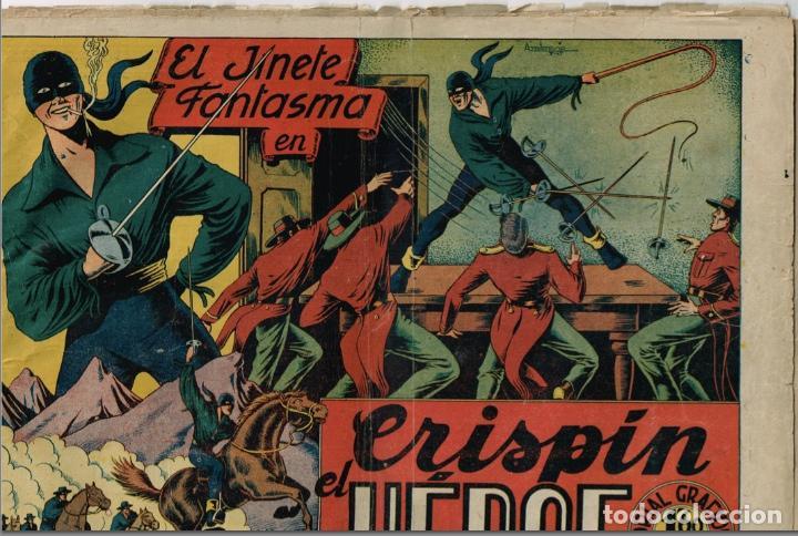 Tebeos: EL JINETE FANTASMA (LOTE DE 9, INCLUIDO EL ULTIMO) + CHISPITA (3ª 2) + 2 regalos. == AMBROS - Foto 3 - 87068812