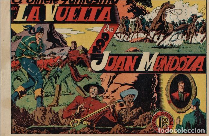 Tebeos: EL JINETE FANTASMA (LOTE DE 9, INCLUIDO EL ULTIMO) + CHISPITA (3ª 2) + 2 regalos. == AMBROS - Foto 4 - 87068812