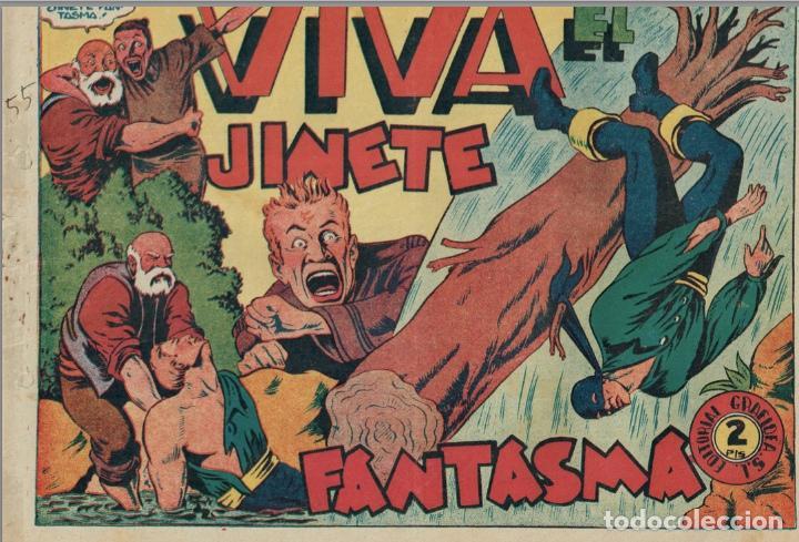 Tebeos: EL JINETE FANTASMA (LOTE DE 9, INCLUIDO EL ULTIMO) + CHISPITA (3ª 2) + 2 regalos. == AMBROS - Foto 7 - 87068812
