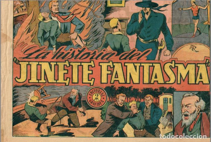 Tebeos: EL JINETE FANTASMA (LOTE DE 9, INCLUIDO EL ULTIMO) + CHISPITA (3ª 2) + 2 regalos. == AMBROS - Foto 9 - 87068812