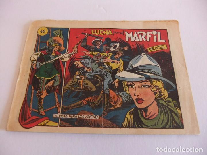 LA CAPITANA Nº 40 EDITORIAL GRAFIDEA (Tebeos y Comics - Grafidea - Otros)