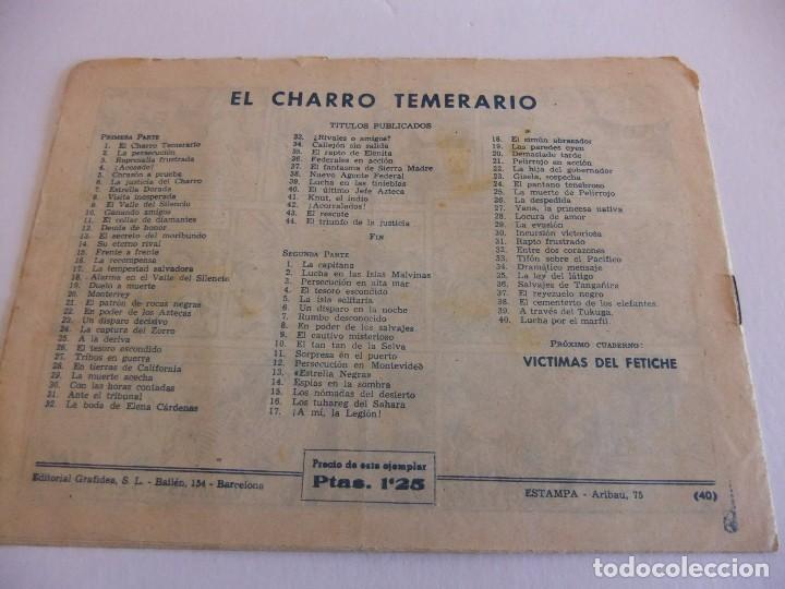 Tebeos: LA CAPITANA Nº 40 EDITORIAL GRAFIDEA - Foto 2 - 88104024