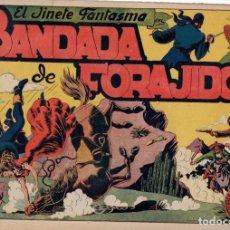 Tebeos: EL JINETE FANTASMA. BANDADA DE FORAJIDOS. ORIGINAL. AÑOS 40. Lote 88518564
