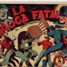 Tebeos: LA DROGA FATAL. EL JINETE FANTASMA. ORIGINAL GRAFIDEA. AÑOS 40. Lote 91073345