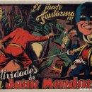 Tebeos: LAS ACTIVIDADES DE DON JUAN MENDOZA. EL JINETE FANTASMA. ORIGINAL GRAFIDEA. AÑO 1947. Lote 91077260