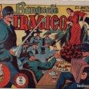 Tebeos: EL BANQUETE TRÁGICO. EL JINETE FANTASMA. ORIGINAL GRAFIDEA. AÑO 1947. Lote 91077945